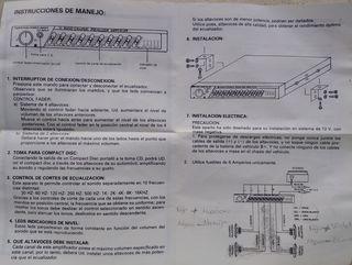 Amplificador Coche (NUEVO)