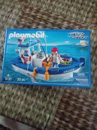 playmobil 5131 barco playmobil a estrenar