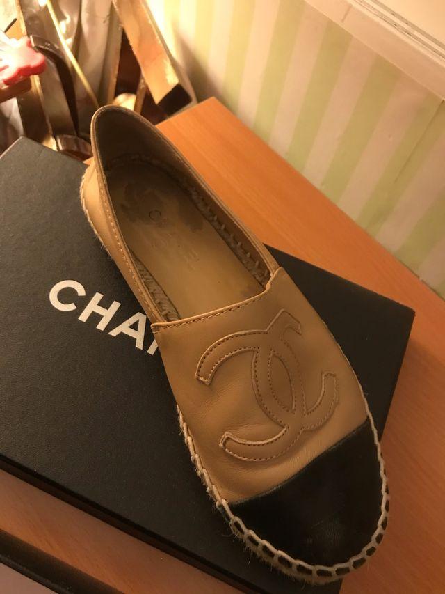 CHANEL ESPARDINIAS-size 38-