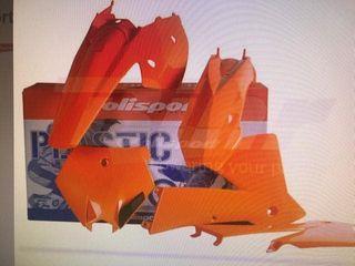 Plastica para moto ktm exc 125 o 250 , 300 Cc 450