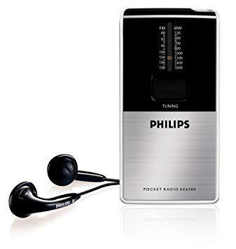 Radio portatil Philips nueva