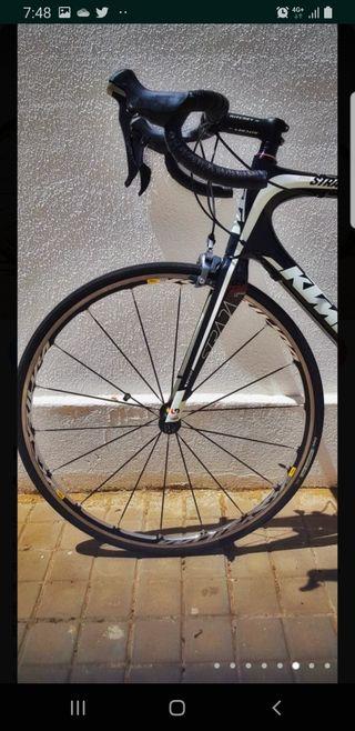 bicicleta de ciclismo ktm exclusiva entera ultegra