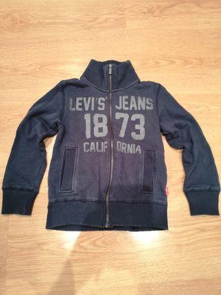 chaqueta sudadera Levis niño talla 8 años