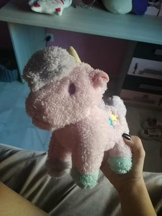 unicornio Kawaii de peluche