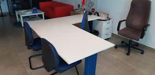 Sillas de oficina de segunda mano en Murcia en WALLAPOP