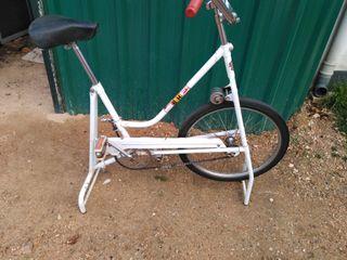 bicicleta estática BH antigua