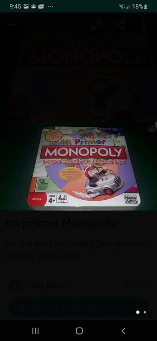 mi primer Monopoly