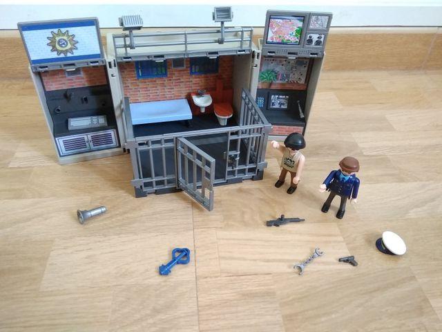 Playmobil carcel-comisaria