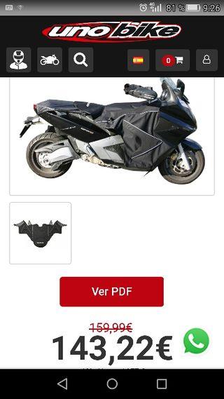 manta termica para moto,de la marca BAGSTER