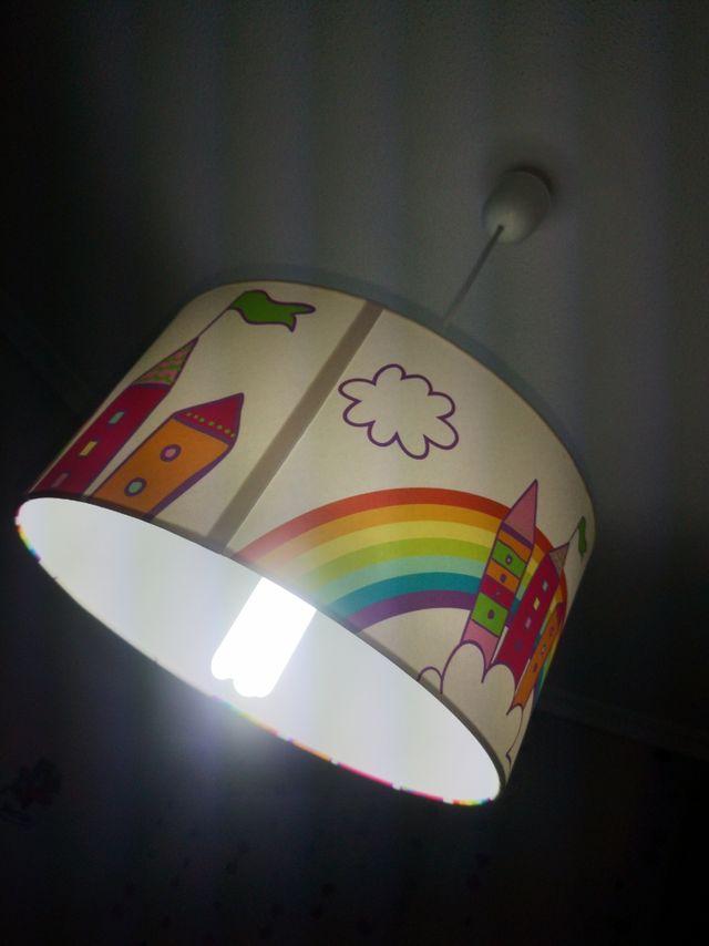 sinfonier y lámpara bebe