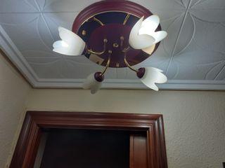 juego de 4 lamparas