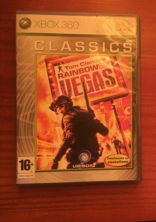 Juego Xbox 360.