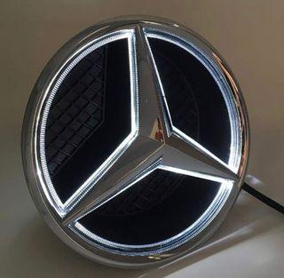 Estrella Mercedes iluminada led