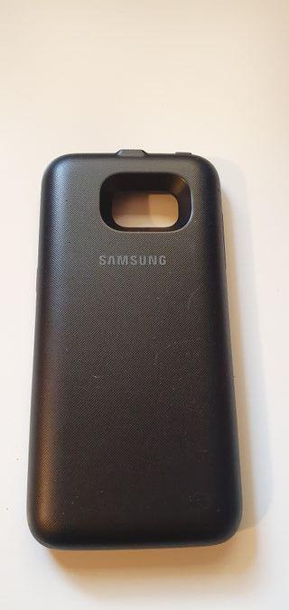 Back Pack Galaxy S7 edge Funda batería.