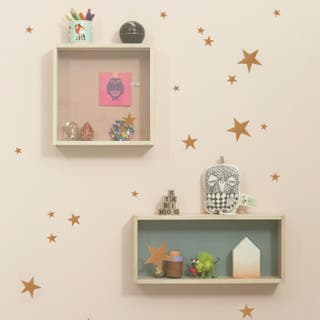 Vinilo Infantil Mini Stars Copper Ferm Living