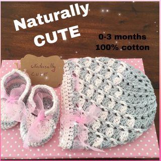 Corro y zapatillas para bebé, nuevo