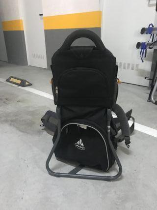 mochila vaude porta bebes