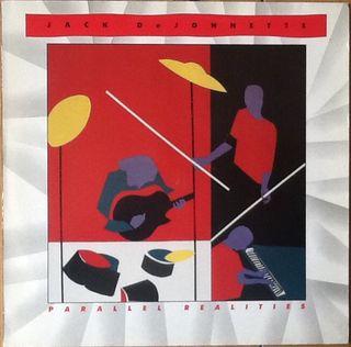 """JACK DeJOHNETTE """"PARALLEL REALITIES"""" LP"""
