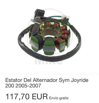 Estator original Sym nuevo Joymax joyride Gts HD