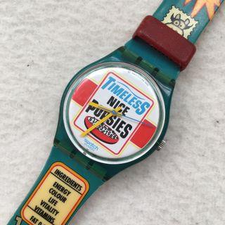 """Reloj Swatch """"Timeless nice popsies"""" de 1995"""