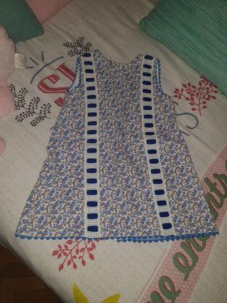 Vestido niña. Talla 4-5
