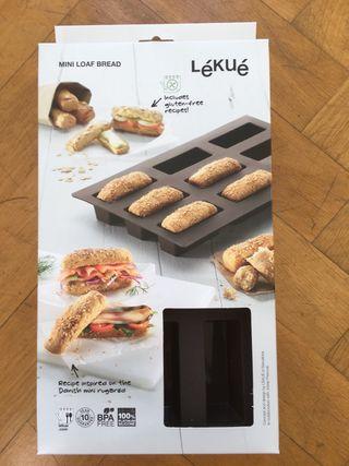 Cocina/Repostería Lékué - Molde Mini Loaf Bread