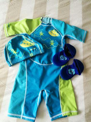 Traje natación niño 2-3 años