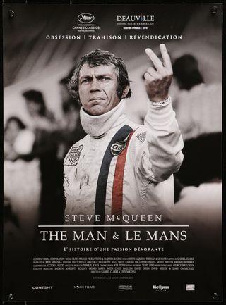 Poster Steve McQueen cqueen