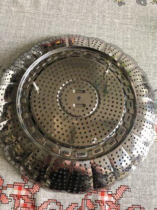 Cocedor al vapor ajustable a cada olla acero inox