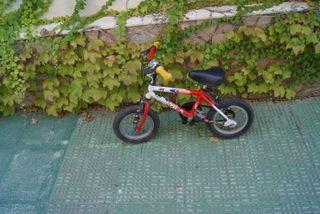 Bicicleta de montaña infantil y adulta