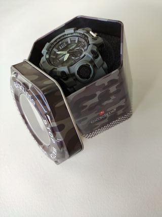 Reloj Exactime Tokdis mecánica Seiko Gris/Negro