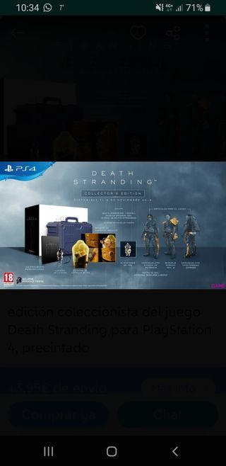 Death Stranding Collector´s Edition PRECINTADA