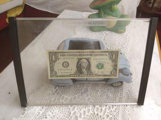 estuches para billetes y monedas en acrilico