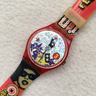 "Reloj Swatch ""Ultra funk fever"" de 1997"