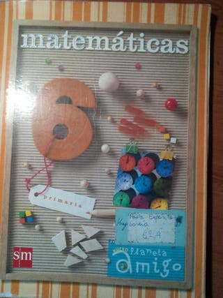 Libro de Matemáticas 6° de Primaria