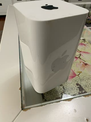 Apple AirPort Extreme. Disco duro en red. Router