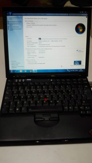 PORTATIL LENOVO THINKPAD X60S DUAL CORE COMINFOREX