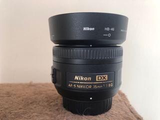 Nikon DX AF-S 35mm 1.8G