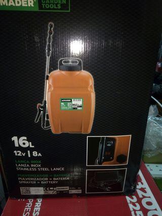 oferta maquina de fumigar de bateria 16l