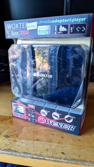 Reproductor multimedia Woxter i-Box 200