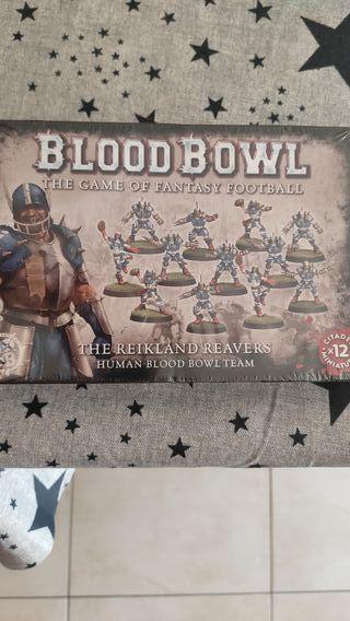 Equipo nuevo precintado de humanos GW blood bowl