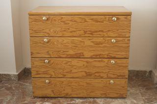 liquidación Mueble auxiliar de madera