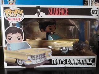 funko pop Tony's convertible scarface Tony Montana