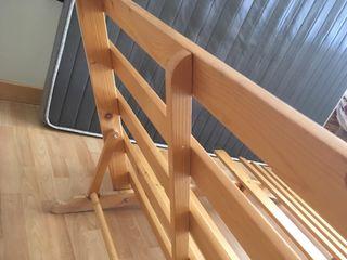 Futón sofá/cama de madera de pino