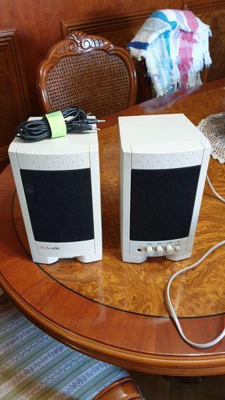 altavoces BOEDER para ordenador