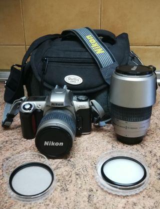 Nikon f65 reflex analogica