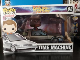 funko pop time machine, regreso al futuro