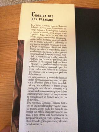 """LIBRO """"CRÓNICA DEL REY PASMADO"""""""