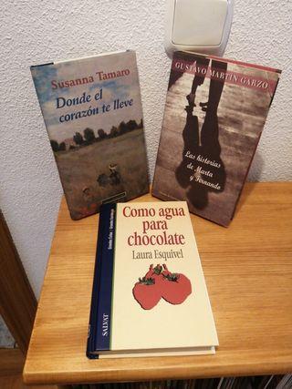 LOTE DE LIBROS NOVELA ROMANTICA