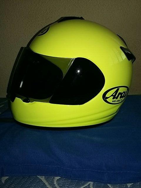 casco moto arai